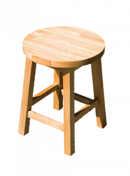 Muebles Manuel Double Triple Stool