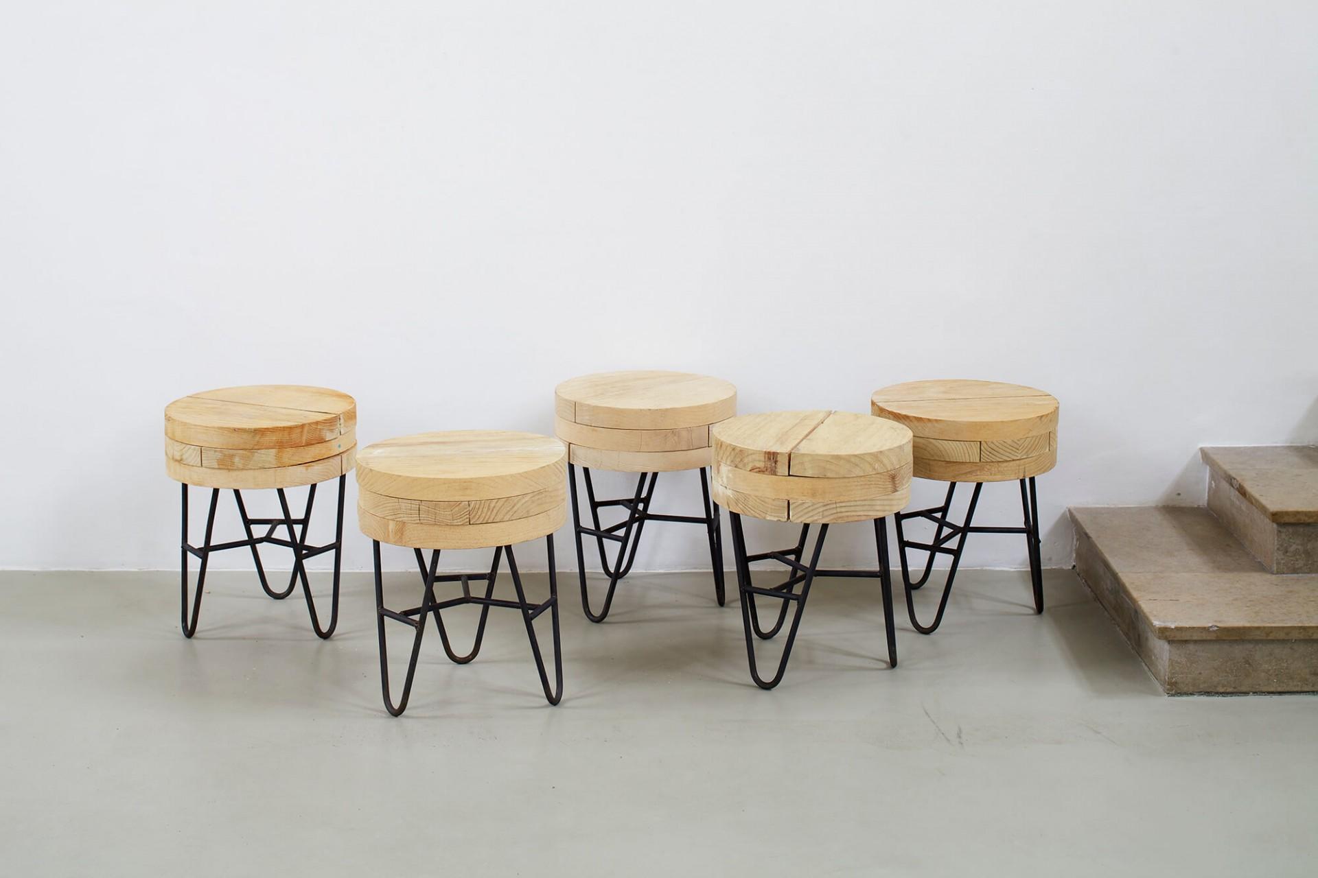 Muebles Manuel Arranca Stool